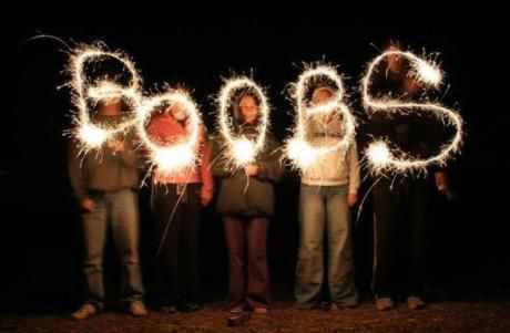The only way that sparklers can be entertaining Picture