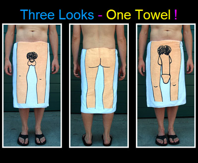 Just bought the Dick towel.  Its a chick magnet! Picture