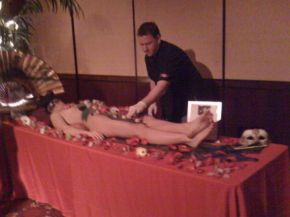 They served naked sushi at my Christmas party lastnight Picture