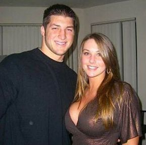 I banged Tim Tebow's girl.  What's up playa!!!!! Picture