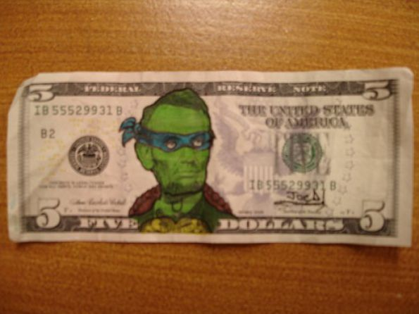 Teenage Mutant Ninja Lincoln! (I was bored) Picture