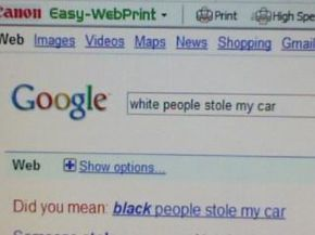 Is google racist now?? Picture