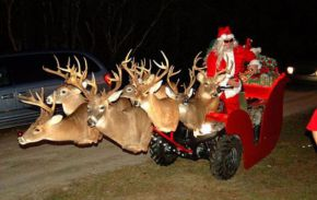 Merry Christmas from Deep South Santa Picture